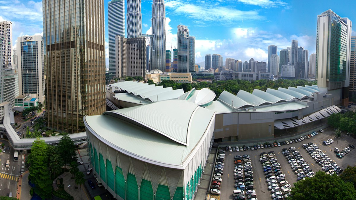 Photo courtesy of Kuala Lumpur Convention Centre